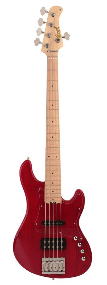 Cort Bass GB75 JH Trans Red
